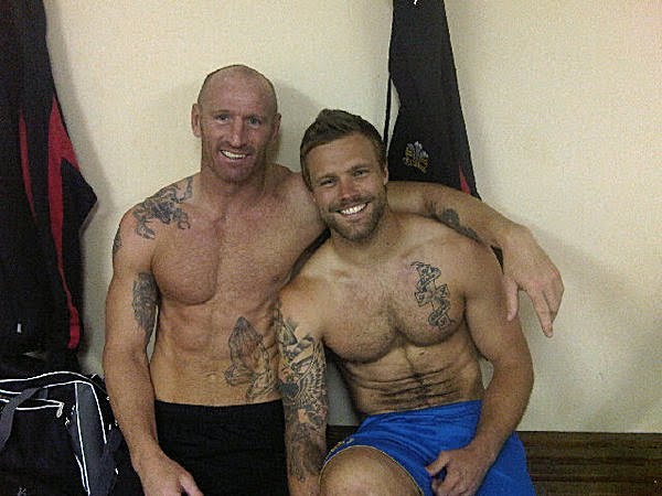 Hot Damn Gareth Thomas And Nick Youngquest Together