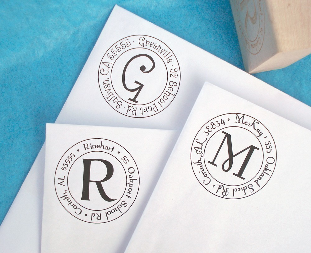 kentucky blue belle  monogram stamps