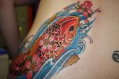 Anna's Koi Tattoo