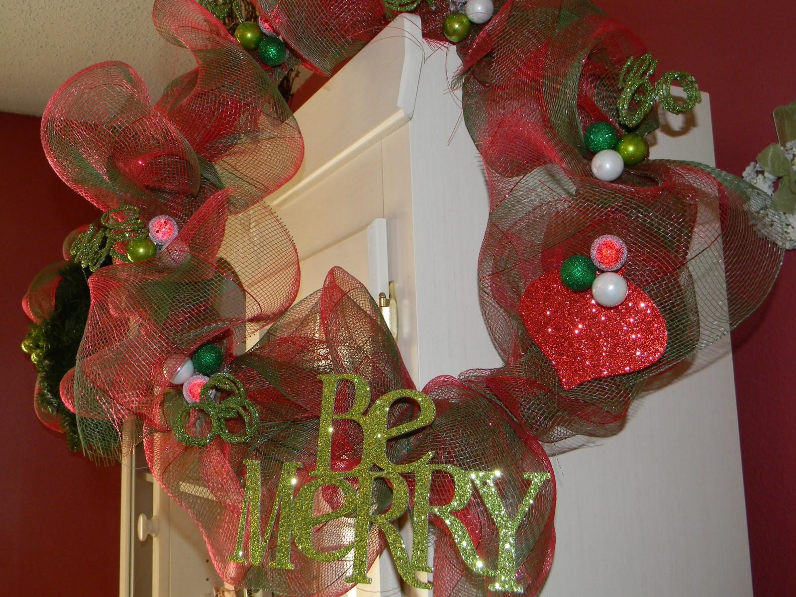 Deco Mesh Wreath Form