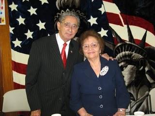 Pastor Jose y Zobeida Brito.