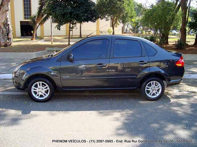 Ford Fiesta Sedan 2009 - Lateral