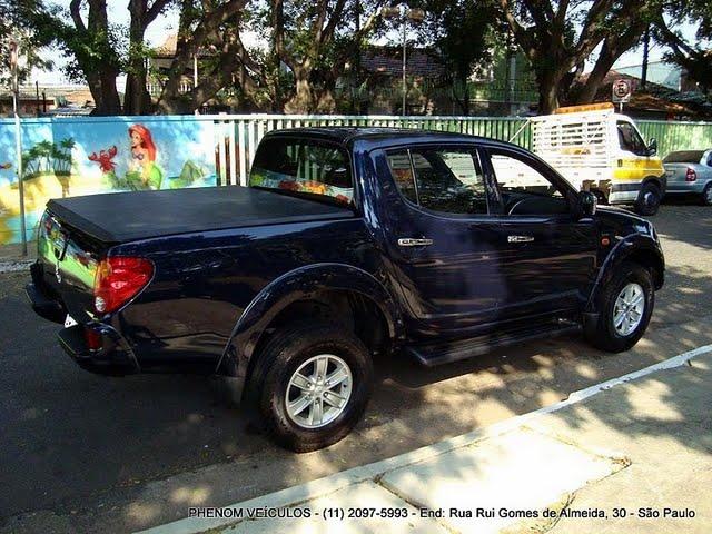 Mitsubishi L200 Triton HPE 3.2 Diesel 2009: Fotos, Preço, Consumo e