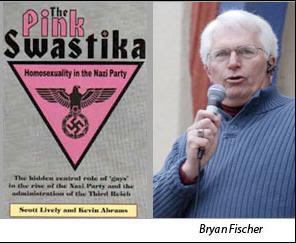 Bryan Fischer likes Pink Swastika