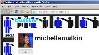 Michelle Malkin's Twitter page