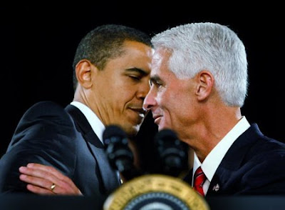 Obama and Crist