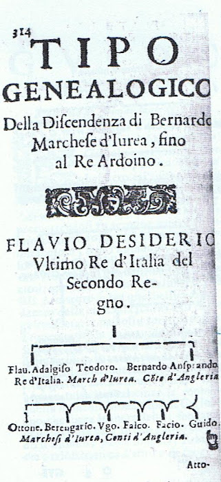 Dinastia del secondogenito di Re Flavio Desiderio