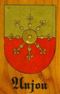 Arme des Comtes d'Anjou