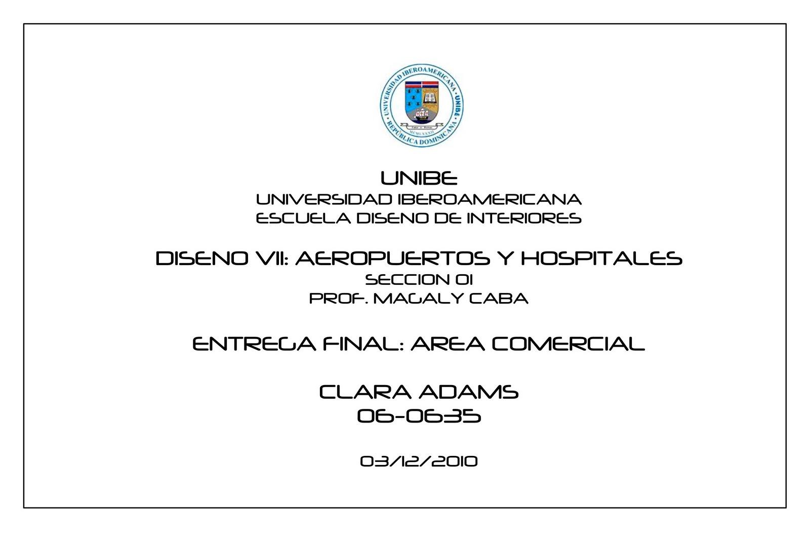 Dise os especiales area comercial parte 1 for Diseno de interiores universidad