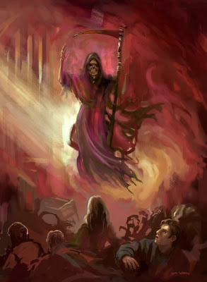 Angel of Death fantasy art