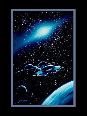 science fiction art print