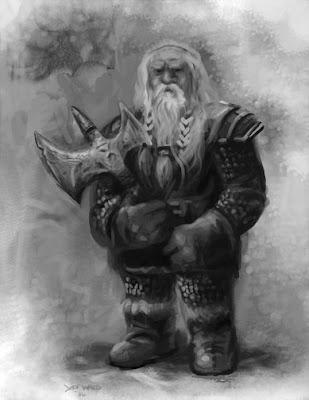 dwarf rpg art