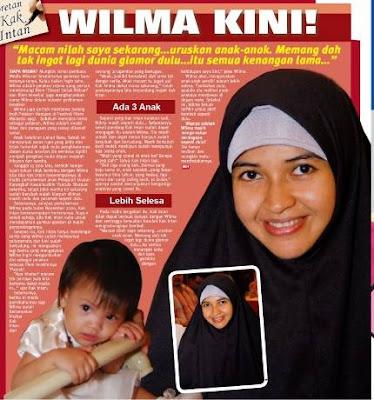 Gambar terkini Wilma Mohammad