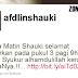 Gambar anak terbaru Afdlin Shauki