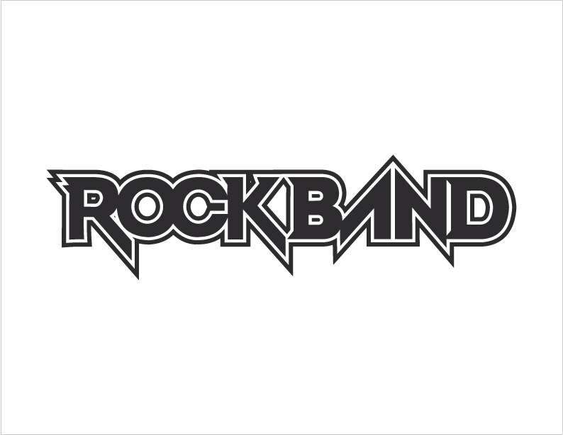 compaq logo vector. download Rock Band Logo in ai
