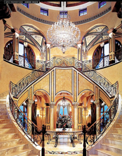 Luxury Stairs Gallery: Beautiful double curved staircases ...