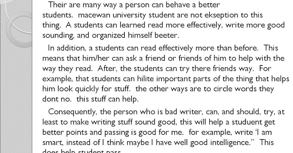 essay to editing practice Proofreading practice amber strack materials: you are the editor sheet on overhead and one copy for each student, corrected copy of you are the editor on overhead.