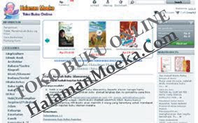 Toko Buku Online Halaman Moeka