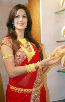 Katrina Kaif in Jewellery Endorsement