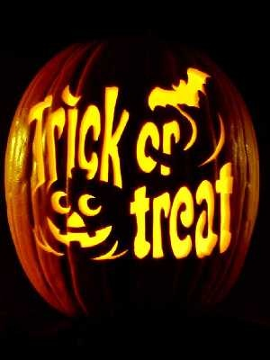 JackoLantern At Least One Adult: Children should always go trick or treating with a ...
