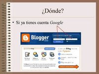 ¿Quieres hacer tu propio blog? Sigue las instrucciones de este tutorial....