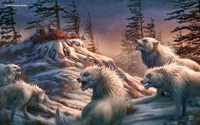 Poste aki as Criaturas de Batalhas. Lobo+da+neve