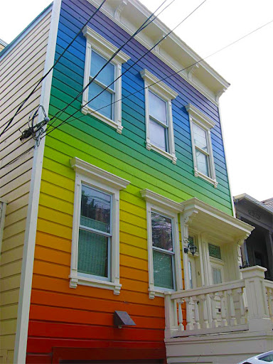 Blogopolis casa arco ris a casa mais colorida do mundo - Hostal casa arco iris ...