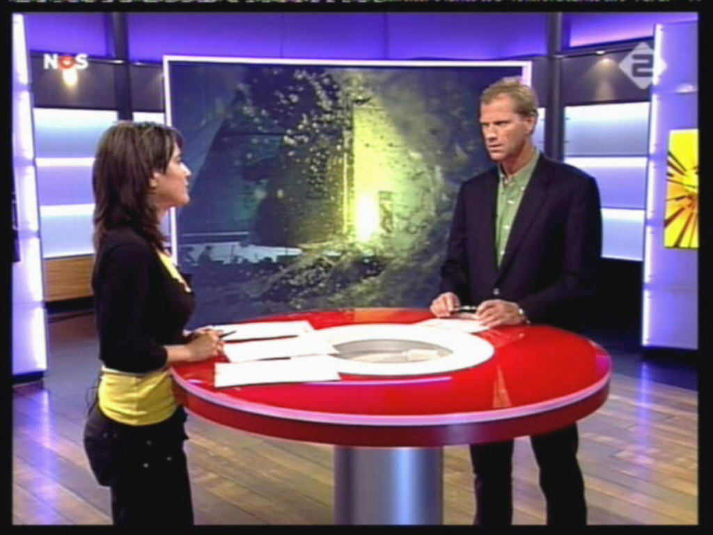 Dione de Graaff: NOS Studio Sport Dione de Graaff 21-5-2006