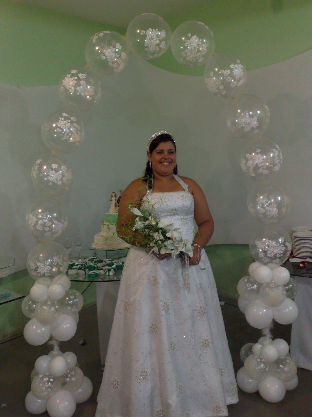 Balloons Fest decorações com balões em Salvador -> Decoração Balões Casamento