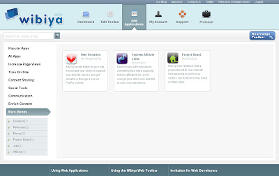 make earn money with wibiya monetize your blog