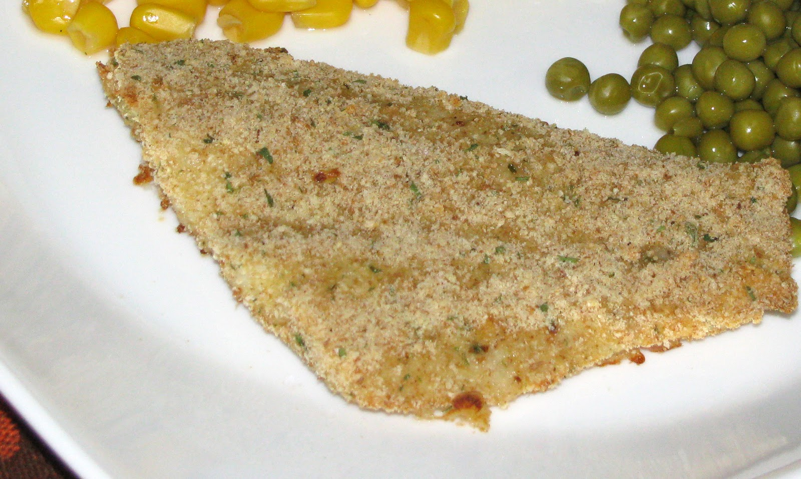 Cooking healthy one recipe at a time breaded baked flounder for How to bread fish