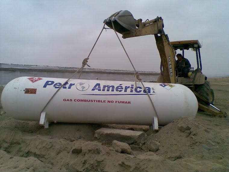 MOVIMIENTO DE TANQUE DE GAS EN GRANJA