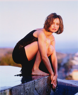 Calista Flockhart Feet