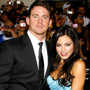 Channing tatum and wife matching tattoos channing tatum for Channing tatum tattoo side by side