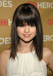 .. bangs hairstyle is by far the cutest of all   Selena Gomezs hairstyles