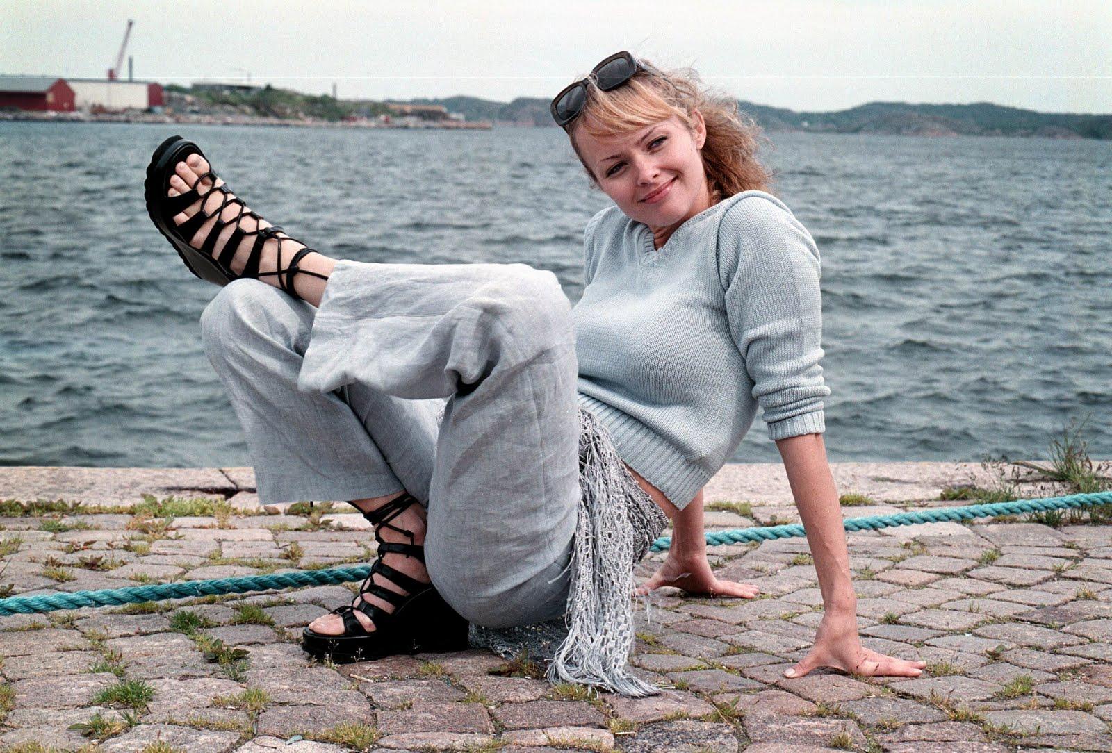 Izabella Scorupco Feet