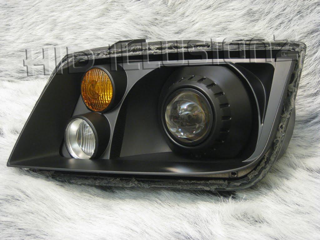 HID ILLUSIONZ: Volkswagen Jetta MK4 FX35 E46 HID Projector Retrofit Headlights