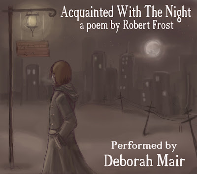 acquainted with the night by robert The night can either be a friend to the content, or a foe to the lonely robert  frost's acquainted with the night is a beautiful poem of a lonely man and his.