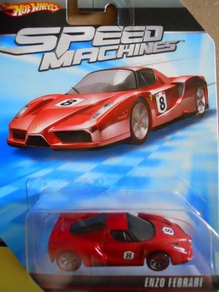 Dexters Diecasts Dexdc Hot Wheels Speed Machines Enzo