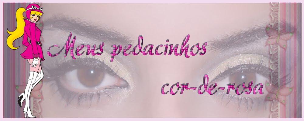 Meus pedacinhos Cor-de-rosa