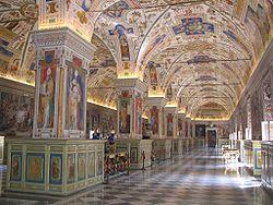 Ватиканская апостольская библиотека — Сикстинский салон библиотеки