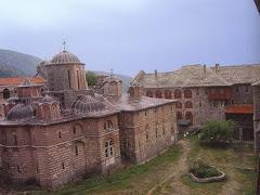 Manastirea XIROPOTAMU - Athos