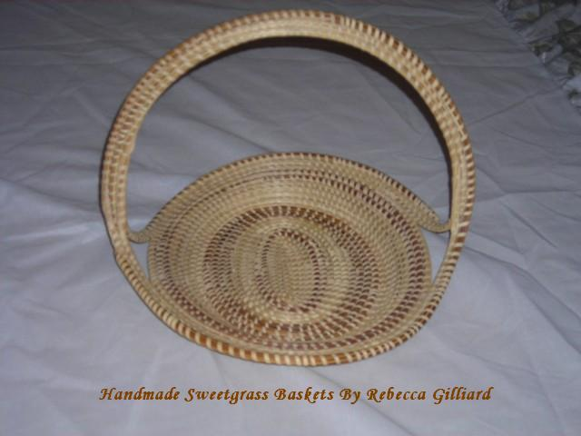 Handmade Baskets In Charleston : Rebecca gilliard s handmade sweetgrass baskets charleston
