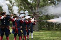 This Saturday in St. Augustine:              Spanish Re-enactors and Lots of  Fun at the Beach 3  spanish+soldiers St. Francis Inn St. Augustine Bed and Breakfast