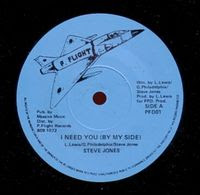 STEVE JONES	 - i need you 198x
