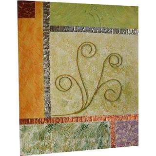 Troulhadas cuadros con texturas for Cuadros con relieve modernos