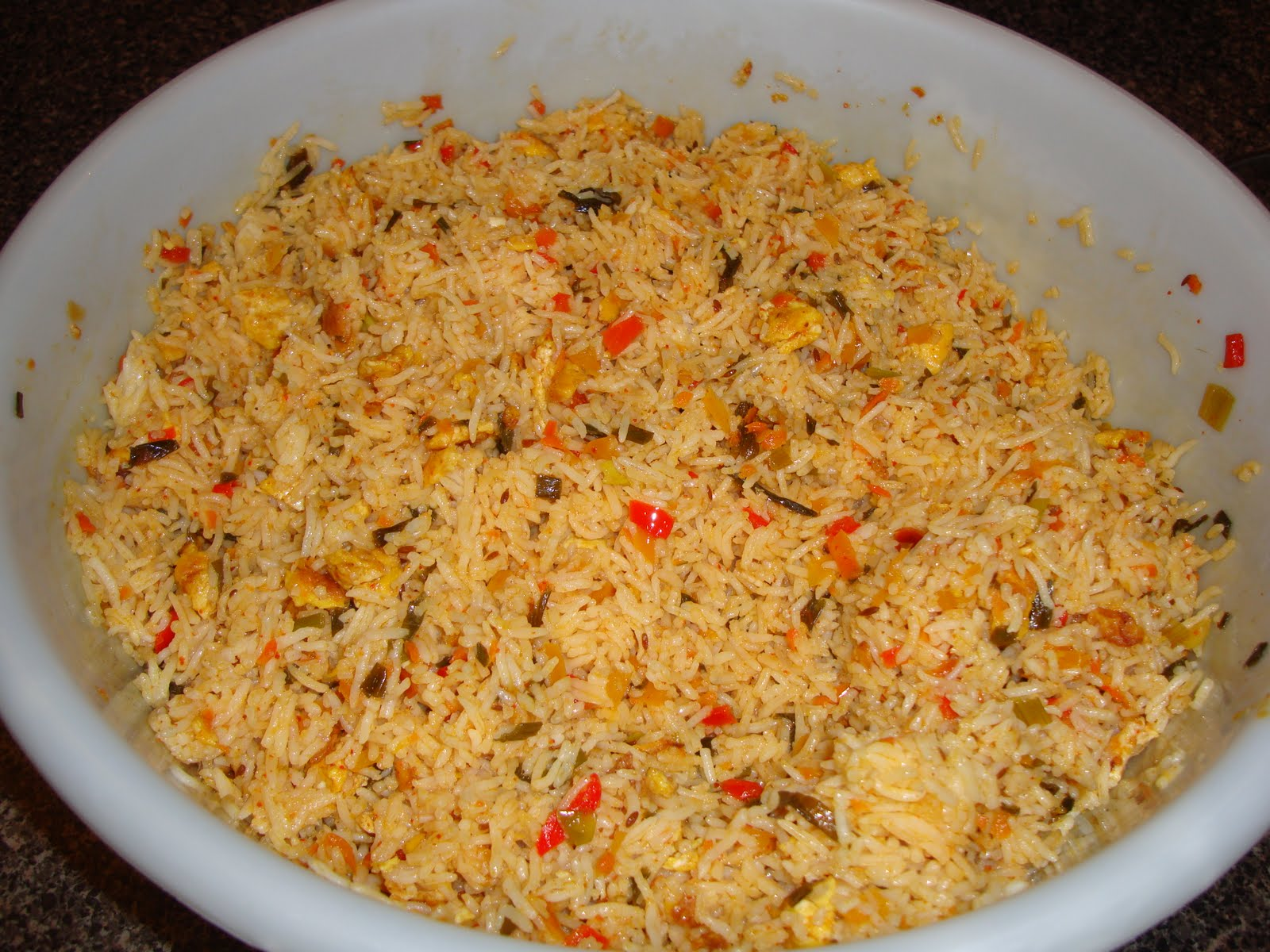 Vanta: Thai Egg Fried Rice with Hinge of Indian Style
