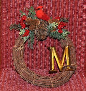 Make A Cardinal Wreath For Thanksgiving Decoration 365