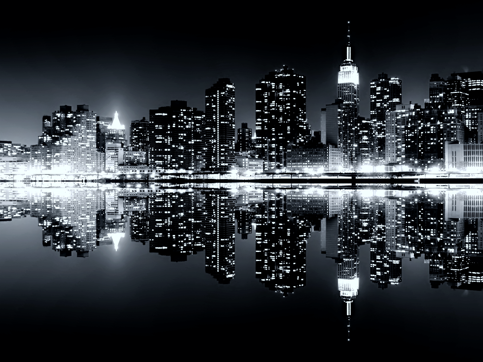 Moonrise Over Manhattan HD Wallpaper Wallpaperrs - moonrise over manhattan wallpapers