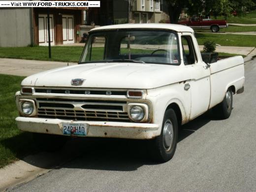 1966 Ford F100 Restoration
